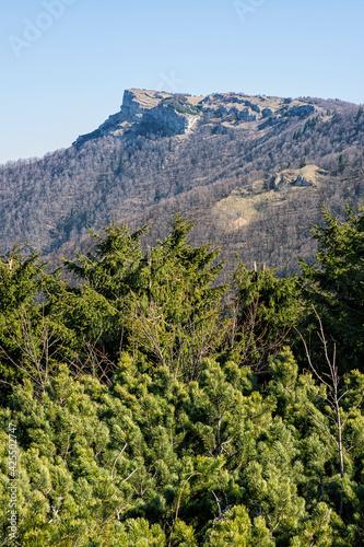 Klak hill is the symbol of the Rajecka valley, Slovakia