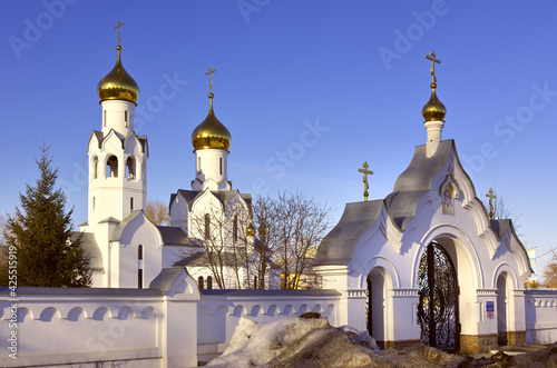 Fototapeta The church in the name of Archangel Michael in Novosibirsk