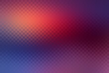 Red Purple Blue Gradient Gloss Background Decorated Checkered Pattern.
