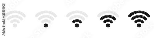 Tela Wi-Fi connection level indicator