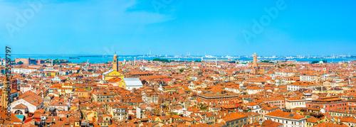 Obraz na plátně Beautiful panoramic landscape of San Marco