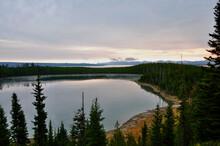 Morgenstimmung Am Yellowstone Lake