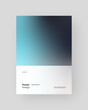 Abstract Placard, Poster, Flyer, Banner Design. Colorful gradients on vertical A4 format. Glass effect. Decorative neumorphism backdrop.