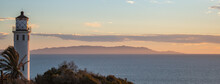 Sunset Over Pacific Ocean In Rancho Palos Verdes