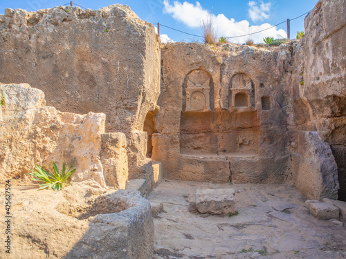 Tela Tombs of the Kings in Paphos, Cyprus