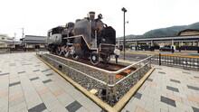 津山駅蒸気機関車3
