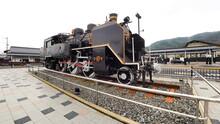津山駅蒸気機関車4