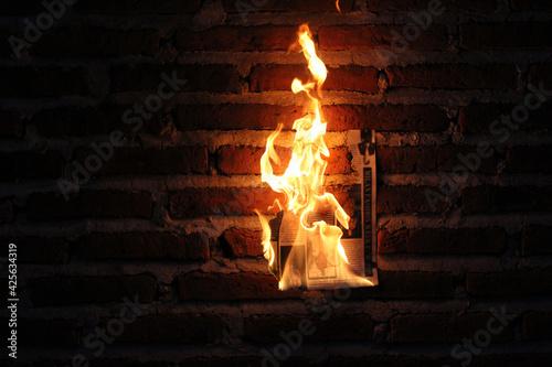 Fuego Wallpaper Mural