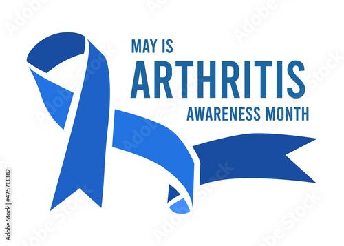Fotomural Arthritis Awareness Month vector illustration