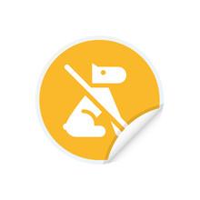 No Dog Allowed - App Icon Button