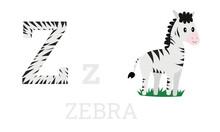 Zebra Abc Letter