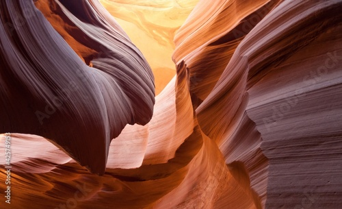 Canvas lower antelope canyon
