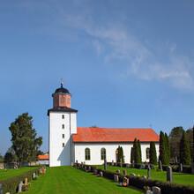 Stenasa (Stenåsa) - Stone Church Built In 1831. Island Of Öland In The Baltic Sea, Södra Ölands Odlingslandskap, Agricultural Landscape Of Southern Öland - UNESCO World Heritage Site, Sweden