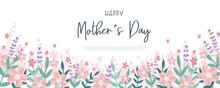 Cute Mother's Day Design, Great For Covers, Banners, Wallpapers, Invitations