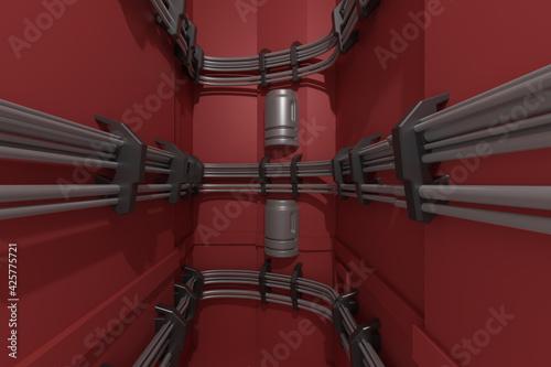 Futuristic Architecture Design - fototapety na wymiar