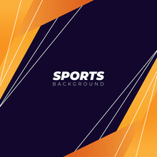 Abstract Dynamic Sports Background Vector For Website, Banner Design