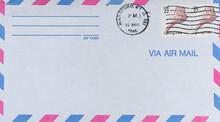 Luftpost Airmail Air Mail Vintage Retro Alt Old Gestempelt Used Frankiert Cancel Briefmarke Stamp 1986 August Usa Amerika America 22 Muschel Shell Lighning Whelk Blitzschnecke Snail Hartford