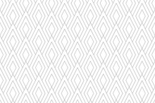 Abstract Geometric Pattern. A Seamless Vector Background. White And Gray Ornament. Graphic Modern Pattern. Simple Lattice Graphic Design.
