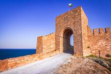 Kaliakra Fortress Medieval Ruins In Bulgaria