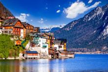 Hallstatt, Austria - Scenic Village In Austrian Alps