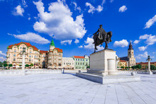 Oradea, Romania - Union Square Summer