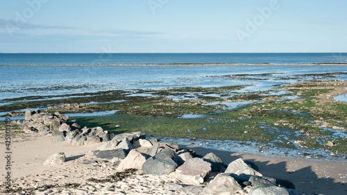 Fotografia Littoral à marée basse
