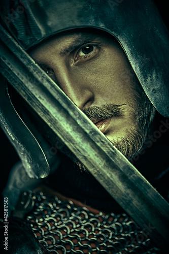 Carta da parati portrait of a warrior