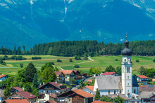 The Village Of Natters In Natters In The Innsbruck-Land In The Austrian State Of Tyrol Located 3.5 Km South Of Innsbruck.