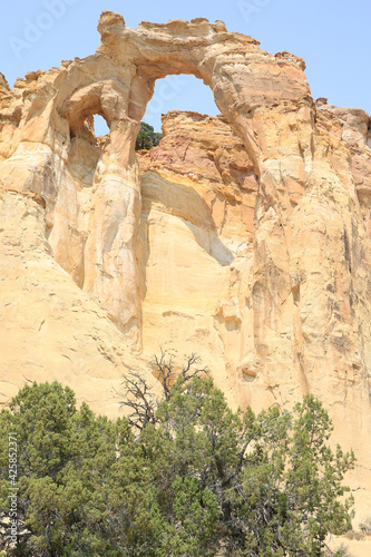 Grosvenor Arch in Grand Staircase Escalante National Monument, Utah, USA Fototapeta