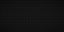 Abstract Background With Squares Holes In Black Colors