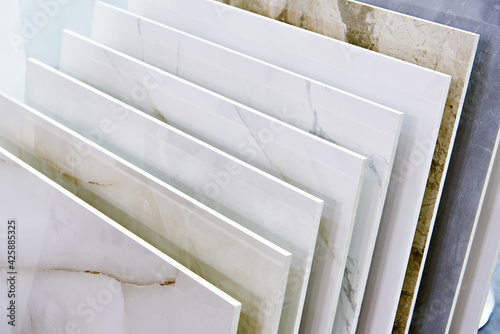 Canvas Porcelain stoneware tiles in store
