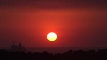Guatemala Bright Setting Sun