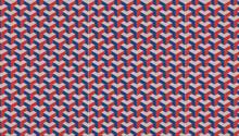 Patrón De ángulos En Tres Colores Simulando Sombra Y Efecto 3D