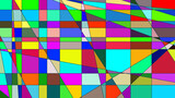 Set of 1000 color,diferent avatar 3d-illustration one color