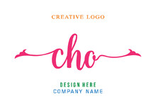 CHO Lettering Logo Is Simple, Easy To Understand And Authoritative