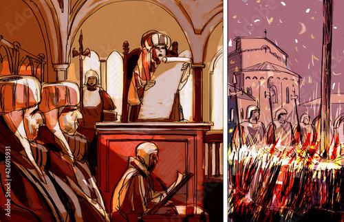 Obraz na plátně Dante 3