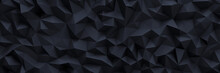 Abstrakter Dunkler Low Poly Polygon Hintergrund