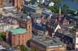 Frankfurt Luftaufnahme Römer Paulskirche