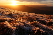 Brecon Beacons In Winter, Brecon Beacons National Park, South Wales, United Kingdom