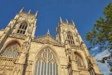 York Minster, The Cathedral In The Historic Heart Of The City Of York, Yorkshire, England, United Kingdom