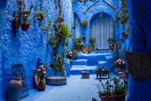 The Blue City Of Chefchaouen, Morocco, North Africa