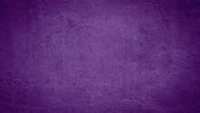 Dark Abstract Purple Concrete Paper Texture Background Banner Pattern.