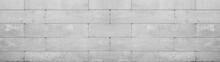 Gray Retaining Wall Garden From Concrete Shuttering Blocks Masonry Brickwork Wall Texture Banner Panorama