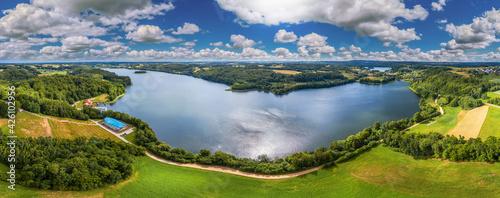 Kaszuby-jezioro Brodno Wielkie