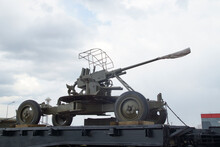 Weapon Of Victory Railway Train Carrying Weapons Of The Soviet Army During The Second World War