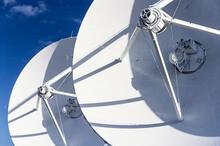 United States, New Mexico, Socorro, Close-up Of Radio Telescopes At Karl G. Jansky Very Large Array