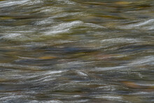 Motion Blurred Water Of Salmon River