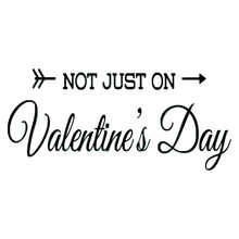 Not Just On Valentine S Day Wo Illustrator Vector Poster Design