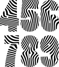 Optical Illusion Black And White Number 2