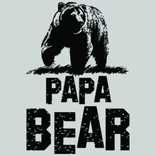 Papa Bear Gifs Wo Premium Illustrator Vector Poster Design